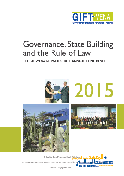 Governance, State Building and the Rule of Law