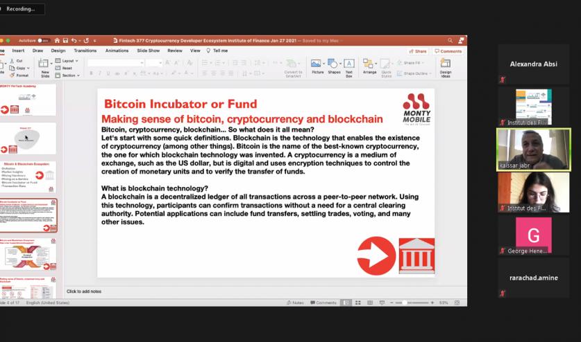 Webinar FinTech